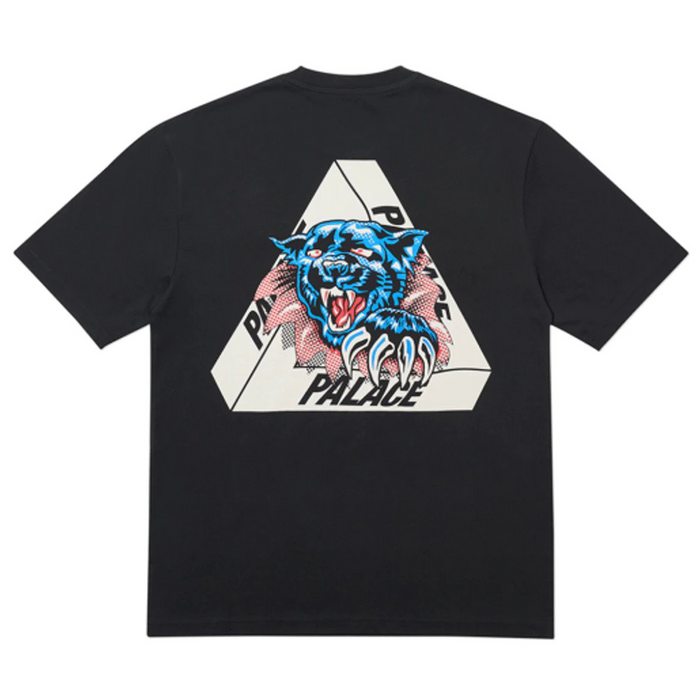 Palace Ripped T-Shirt Black