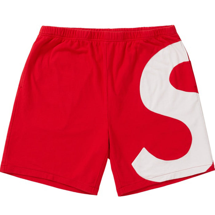 Supreme S Logo Short Red