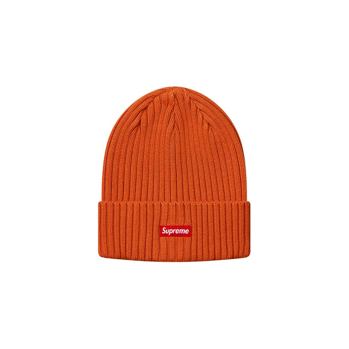 Supreme Overdyed Beanie Rust