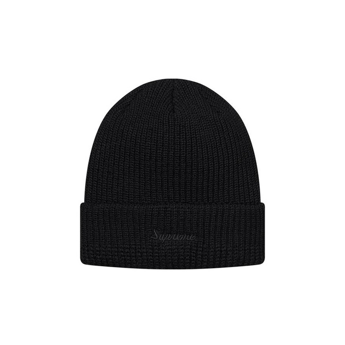 Supreme Loose Gauge Beanie Black