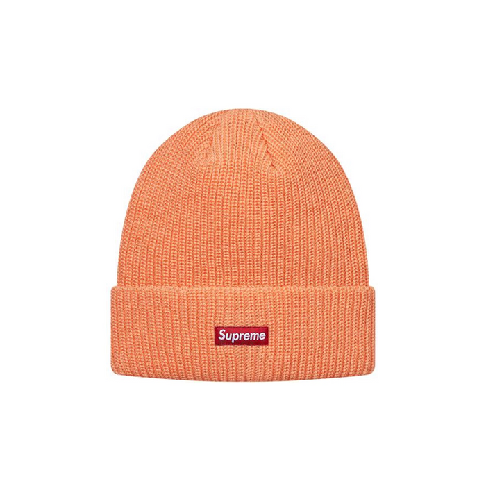 Supreme Heather Loose Gauge Beanie Heather Peach