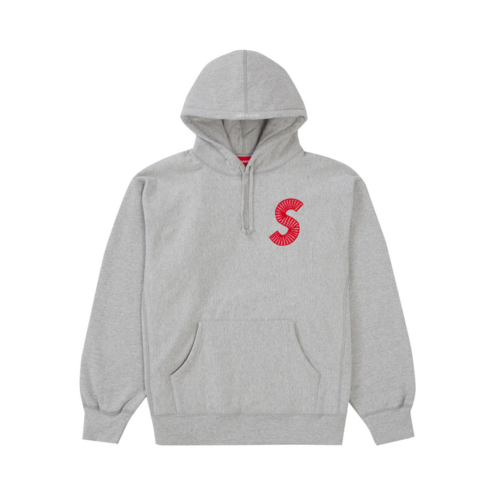 Supreme S Logo Hooded Sweatshirt (FW20) Heather Grey