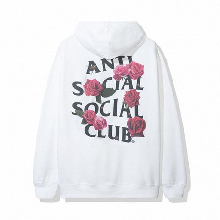 Anti Social Social Club Smells Bad Hoodie White