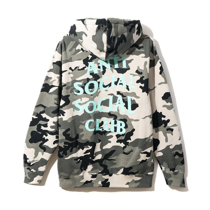 Anti Social Social Club Snow Daze Camo Hoodie