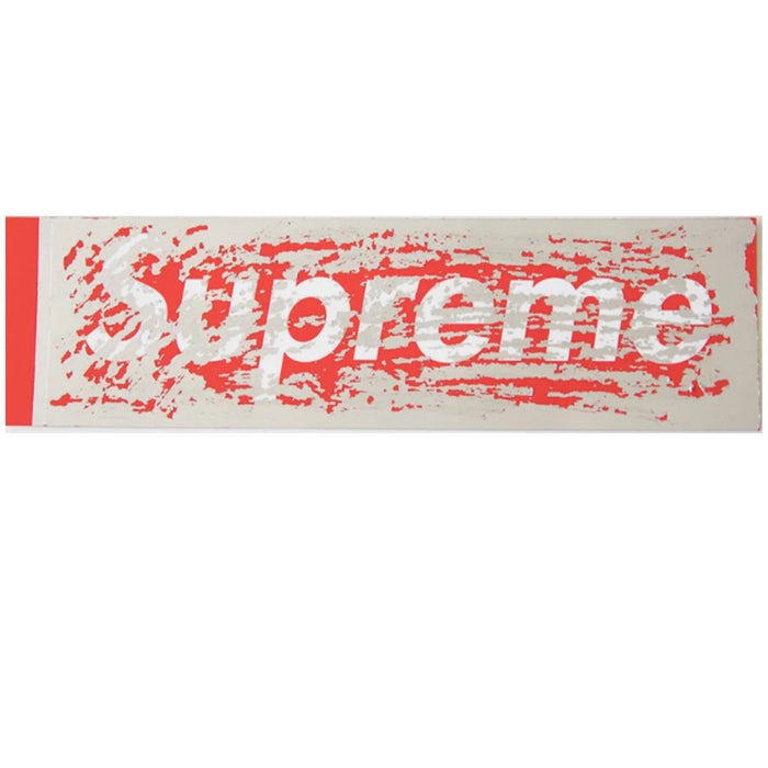 Supreme Scratch Box Logo Sticker