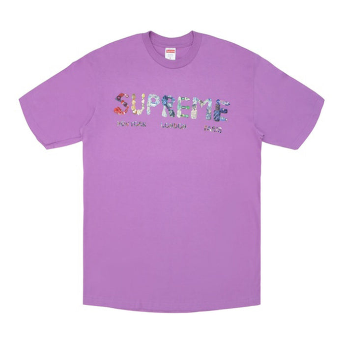 Supreme Rocks Tee Light Purple