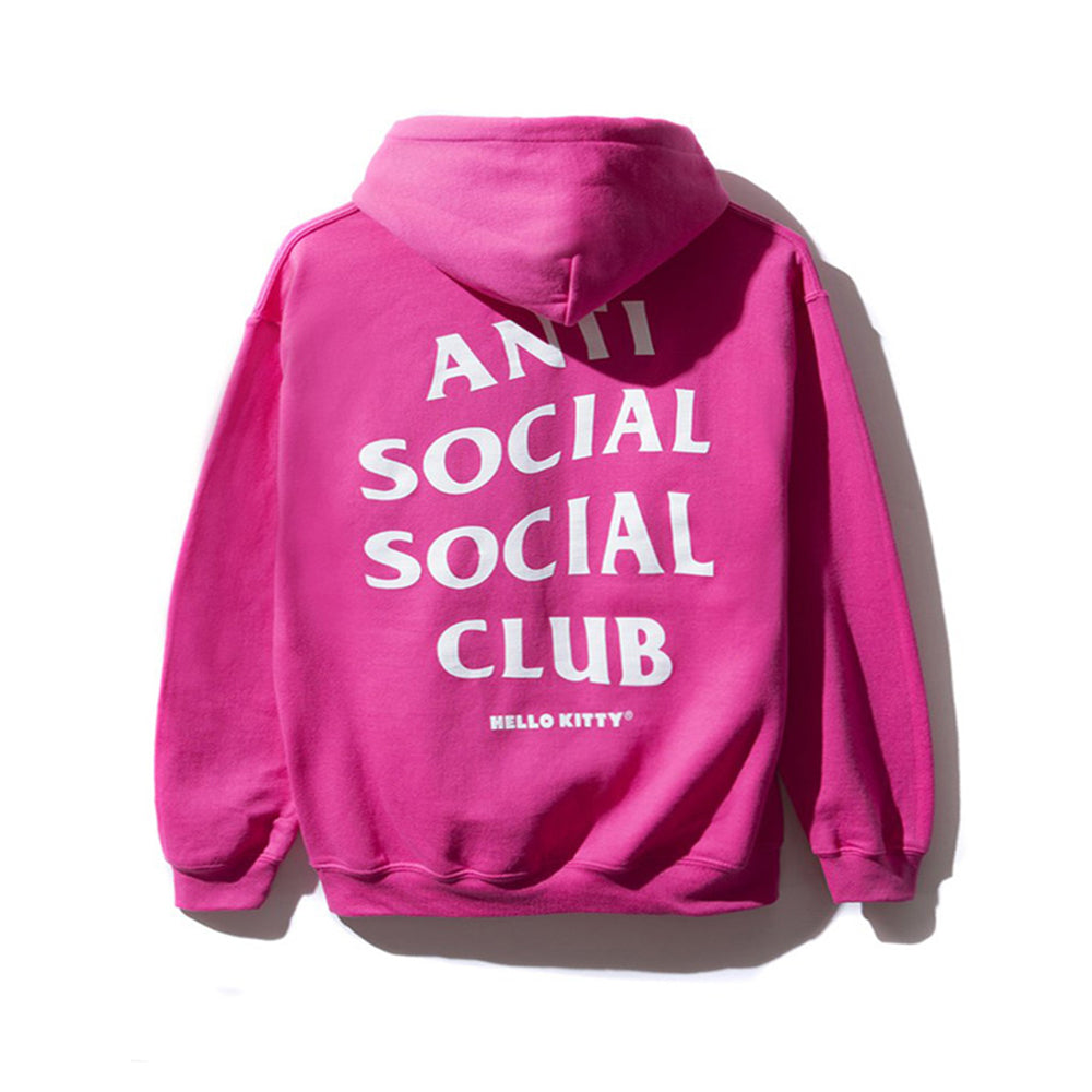 Anti Social Social Club Hello Kitty Hoodie Pink