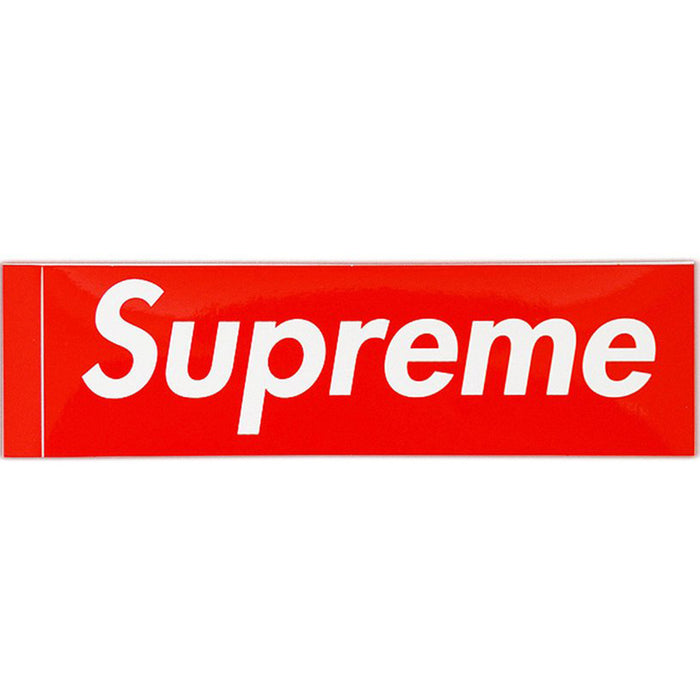 Supreme Box Logo Sticker (Red)