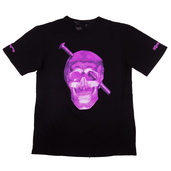 Vlone Screwhead Tee Black/Purple