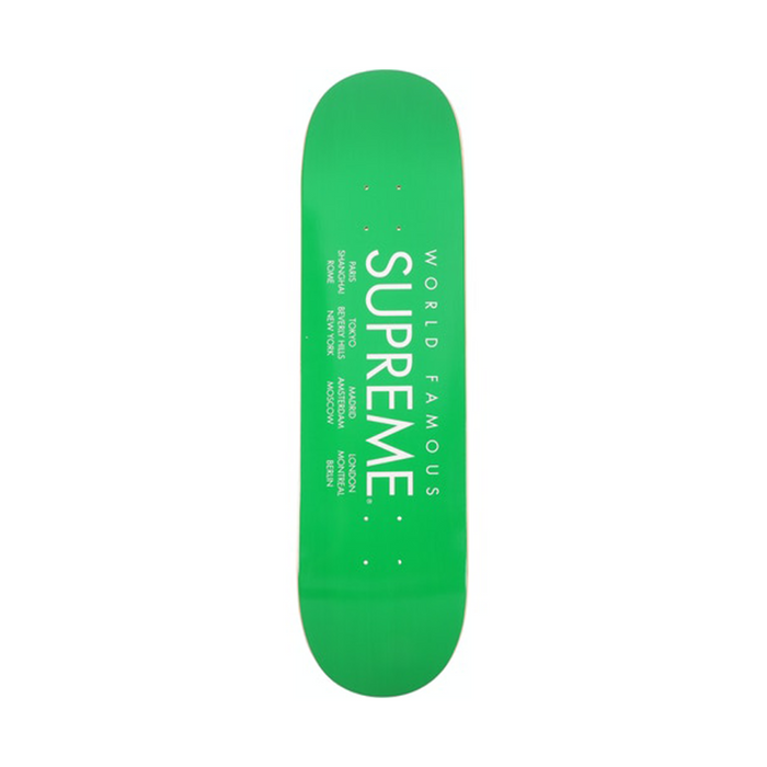 Supreme International Skateboard Deck Green