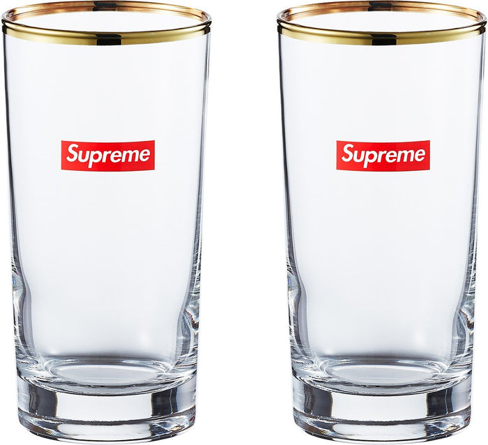 Supreme Bar Glass Clear (Set Of 1)
