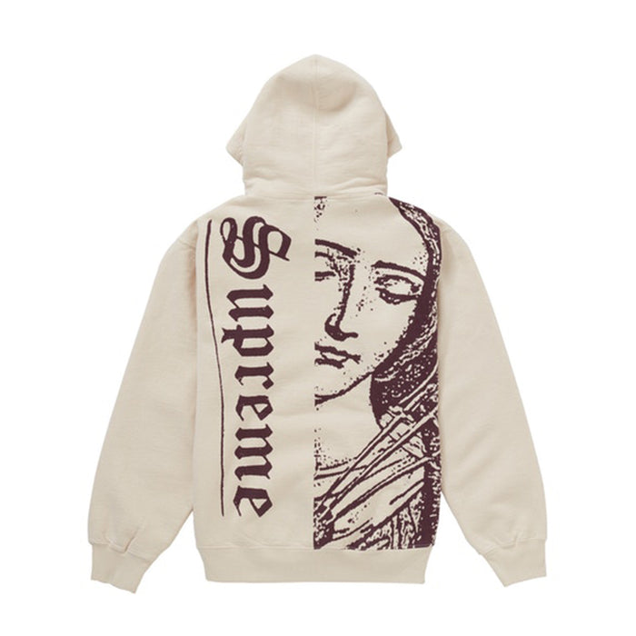 Supreme Mary Hooded Sweatshirt Natural