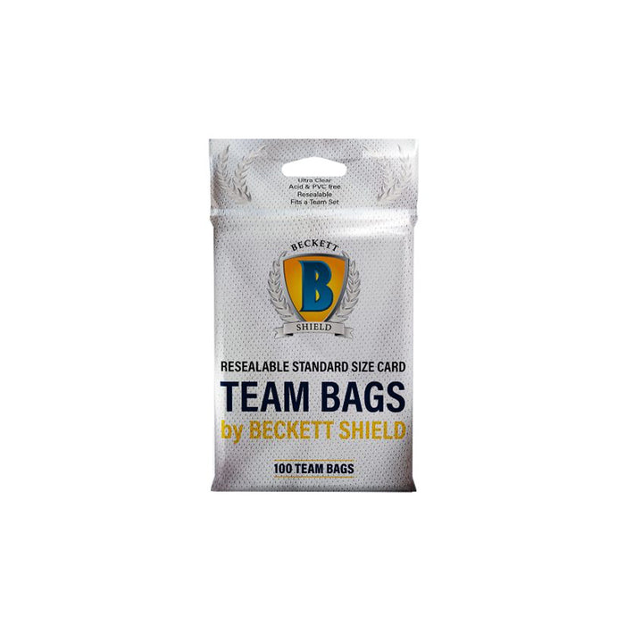 Beckett Shield Team Bags 100CT