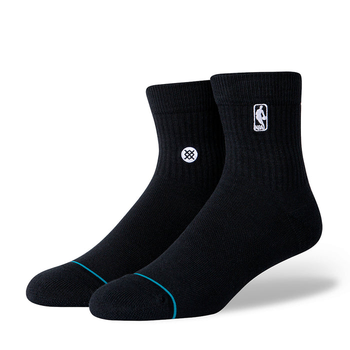 Stance NBA Logoman St Socks Black (1 Pack)