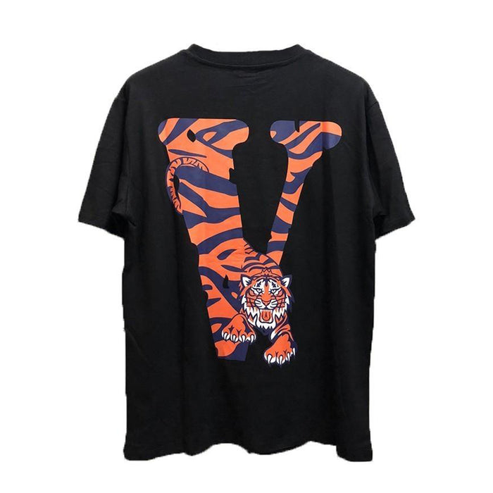 Vlone Detroit Tiger Friends Tee Black