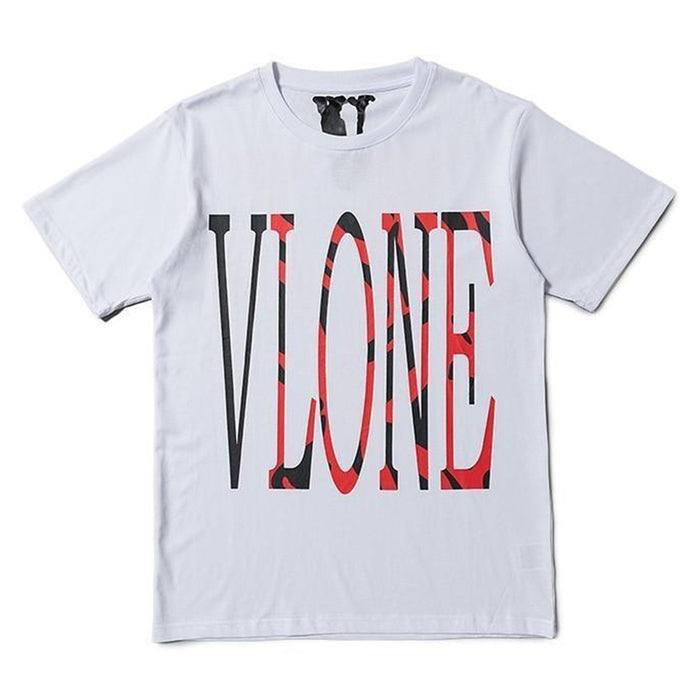 Vlone Detroit Tigers Staple Tee White