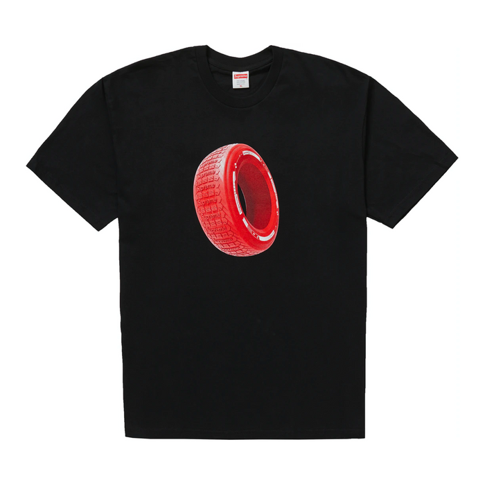 Supreme Tire Tee Black