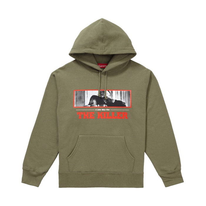 Supreme The Killer Hooded Sweatshirt Light Olive