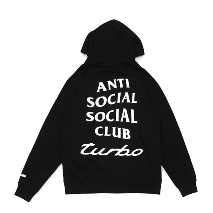 ASSC x Neighborhood 911 Turbo Hoodie Black