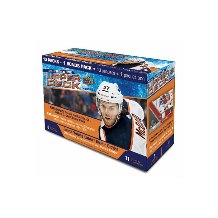 2020-21 Upper Deck Series 1 Hockey Mega Box