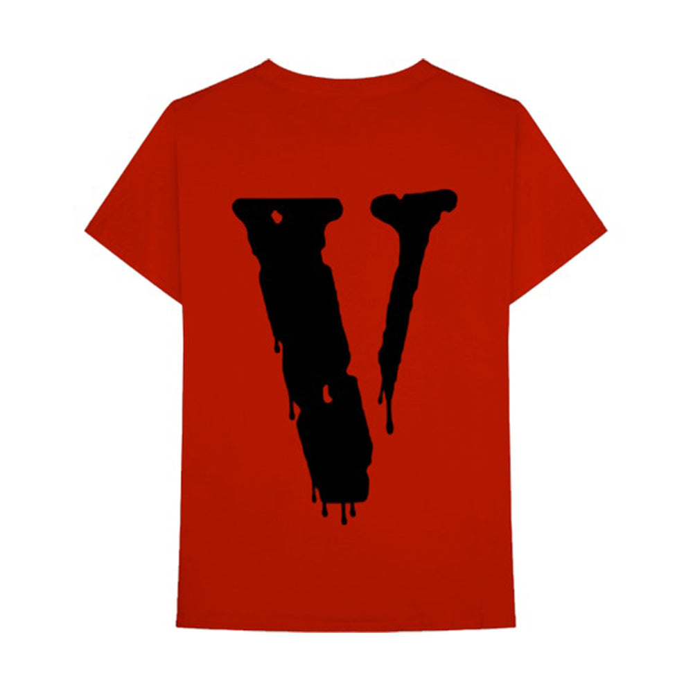 Nav x Vlone Drip T-Shirt Red