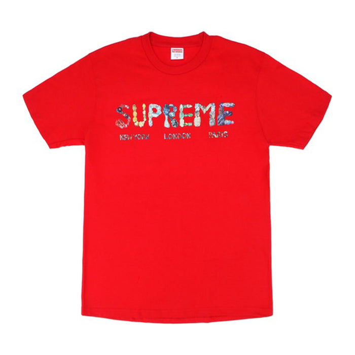 Supreme Rocks Tee Red