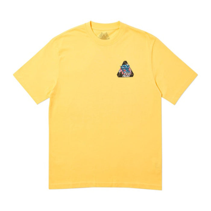 Palace Ripped T-Shirt Yellow