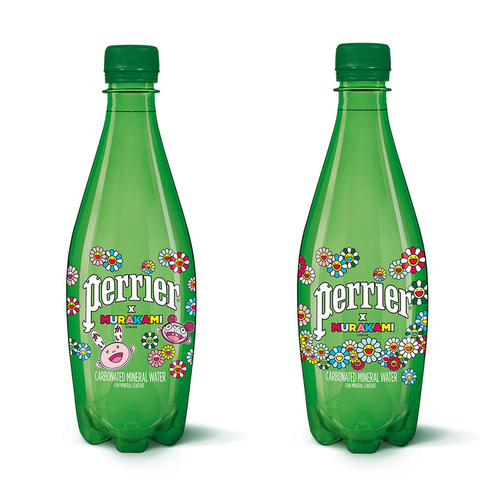 Perrier x Murakami Plastic Water Bottle