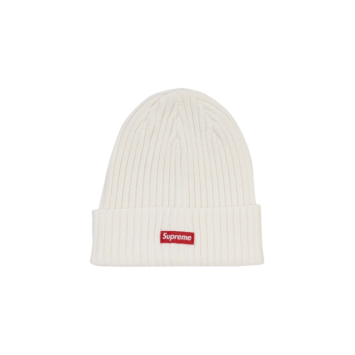 Supreme Overdyed Beanie White