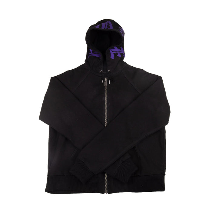Vlone Denim Jacket Black/Purple