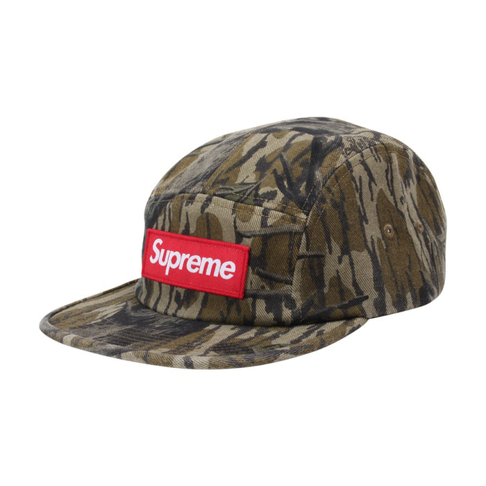 Supreme Military Camp Cap (FW18) Mossy Oak Camo