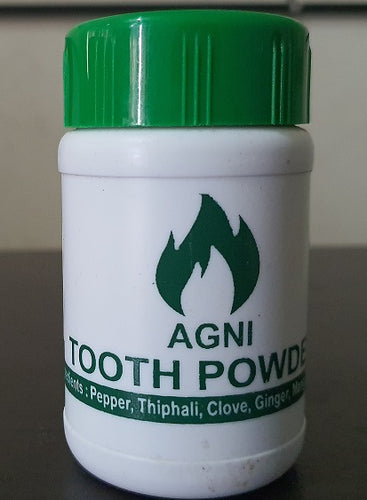 Agni tooth powder