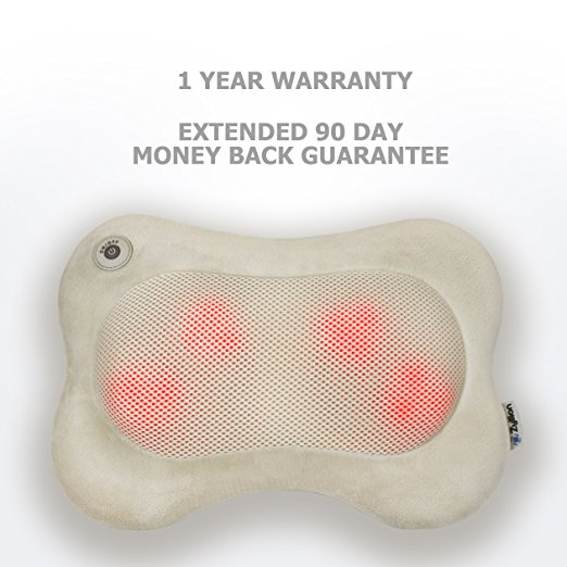ZMA13CHV Shiatsu Massager Pillow with Heat
