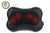 Zyllion Rechargeable Shiatsu Back and Neck Massager, ZMA-13RB-BK