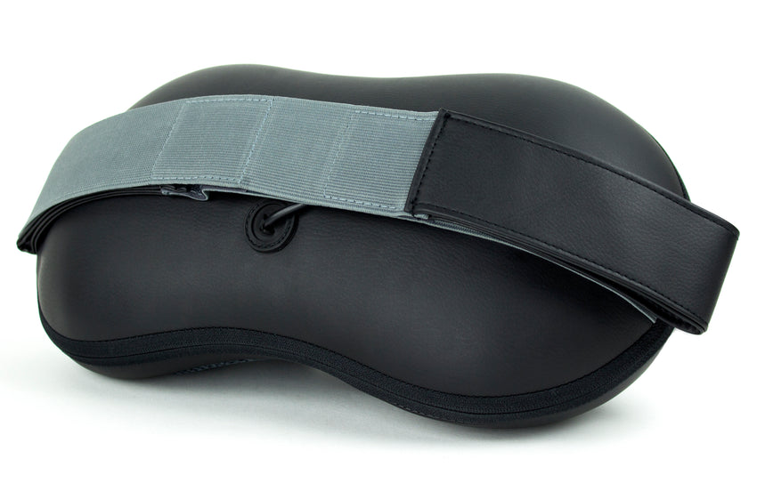 Zyllion Back and Neck Shiatsu Massager with Straps, ZMA-19