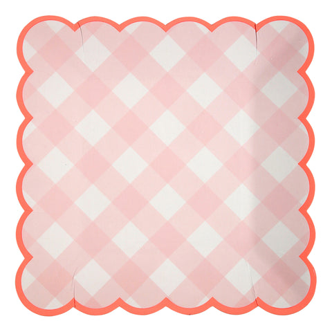 Pratos Gingham