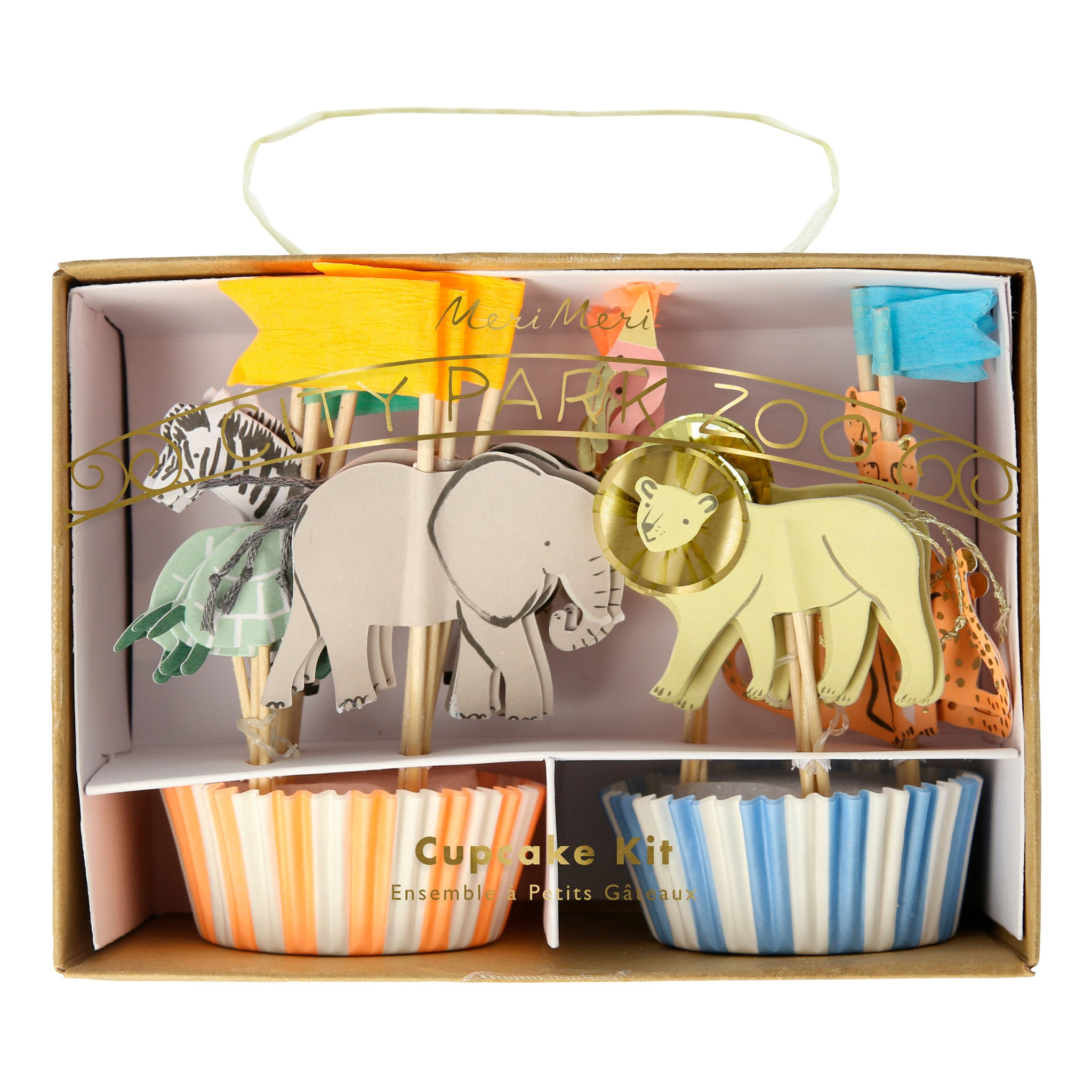 Kit Cupcakes Safari Selva