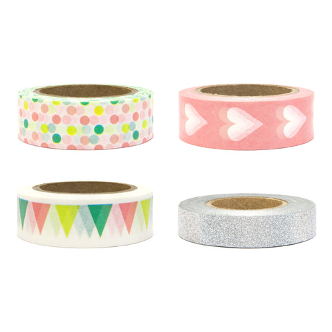 Conjunto Washi Tape Party