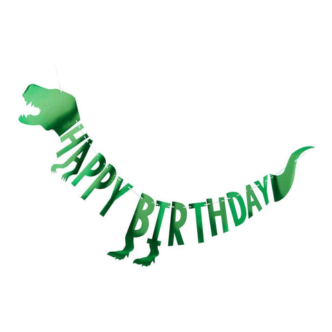 Grinalda Happy Birthday Dinossauros