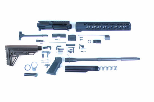 "SA16 'Operator Alpha' Series 16"" 1:7 Parkerized Carbine Builder Kit with Alpha Stock Kit 12"" M-LOK Handguard"