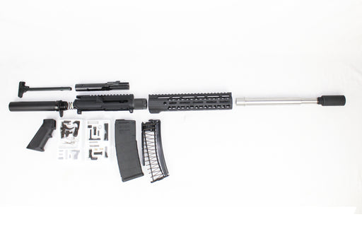 "AR9 - ZAVIAR 'STINGER SERIES' 10.5"" STAINLESS STEEL 9MM ENDO-KIT 10"" LIGHTWEIGHT HANDGUARD"
