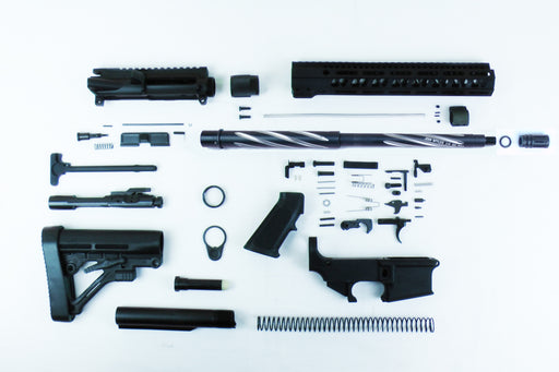 "SA16S 'Operator' Series 16"" 1:8 Bear Claw Twisted Fluted 80% Carbine Kit with Predator Stock Kit 12"" M-LOK Handguard"