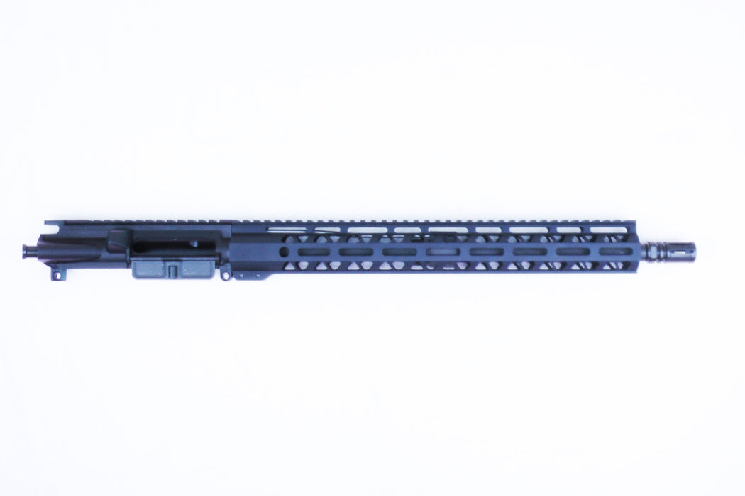 "16"" AR15 5.56 Upper Receiver with 15"" Free Float MLOK Handguard 1:9 Twist Mid-Length Gas System"