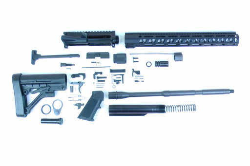 "SA16 'Operator' Series 16"" 1:7 Parkerized Carbine Builder Kit with Predator Stock Kit 15"" M-LOK Handguard"