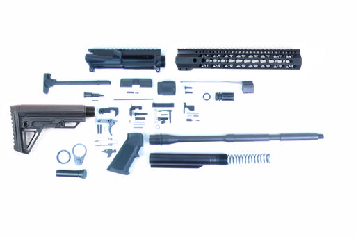 "SA16 'Operator Alpha' Series 16"" 1:7 Parkerized Carbine Builder Kit with Alpha Stock Kit 12"" KeyMod GEN2 Handguard"