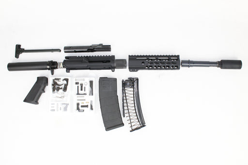 "AR9 - ZAVIAR 'STINGER SERIES' 4.5"" 9MM ENDO-KIT 7"" LIGHTWEIGHT HANDGUARD"