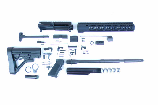 "SA16 'Operator' Series 16"" 1:7 Parkerized Carbine Builder Kit with Predator Stock Kit 12"" M-LOK Handguard"