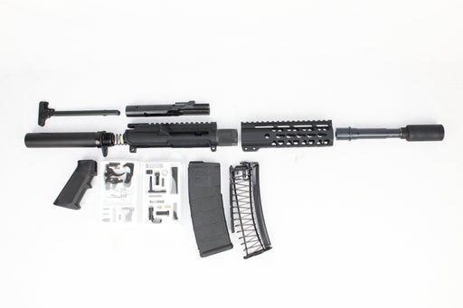 "AR9 - ZAVIAR 'STINGER SERIES' 5.5"" 9MM ENDO-KIT 7"" LIGHTWEIGHT HANDGUARD"