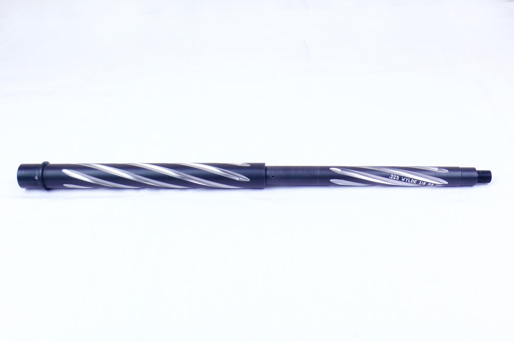 "18"" Bear Creek Arsenal BCA AR-15 BARREL: 18"" BEAR CLAW, W/ 1:8 TWIST .223 WYLDE, 416R STAINLESS STEEL BLACK NITRIDE FINISH"