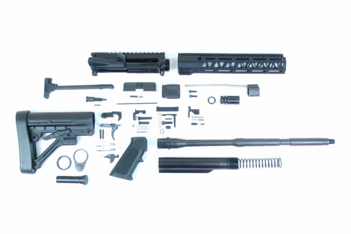 "SA16 'Operator' Series 16"" 1:9 Parkerized Carbine Builder Kit with Predator Stock Kit 10"" M-LOK Handguard"